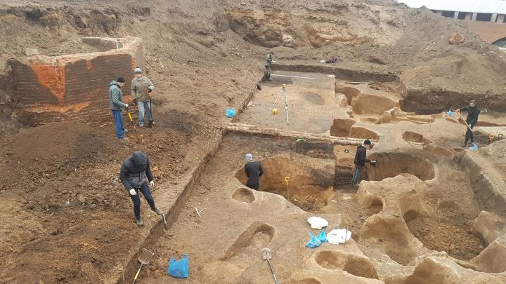 В Нижегородском кремле археологи обнаружили остатки первого в России фуникулера