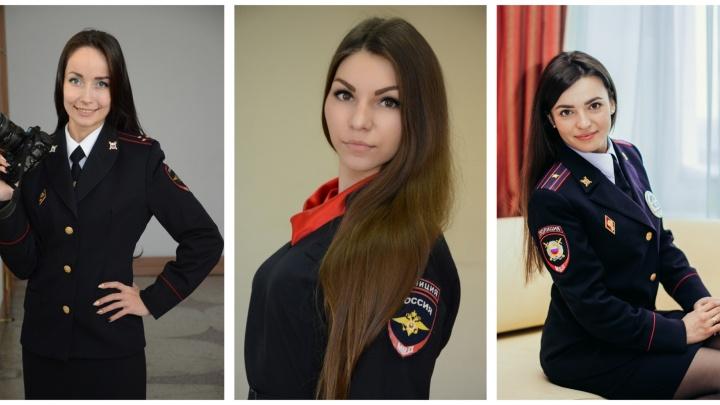 «Леди омская полиция-2»: любуемся красавицами на страже порядка