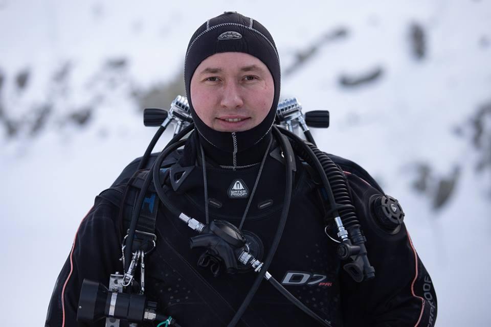 Александр Горовец, инструктор по техническому дайвингу