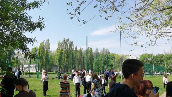 В Тольятти эвакуировали учеников одной из школ
