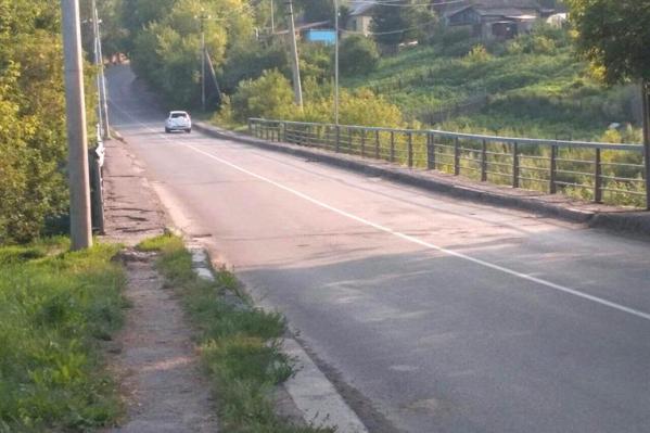 Мост через рекуЛевый Калтат, который решено отремонтировать