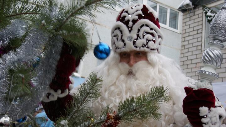 Визит Деда Мороза из Великого Устюга в Самару пройдет без зажжения ёлки