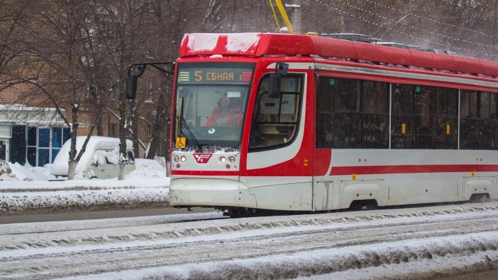 В Самаре изменили трамвайный маршрут № 5
