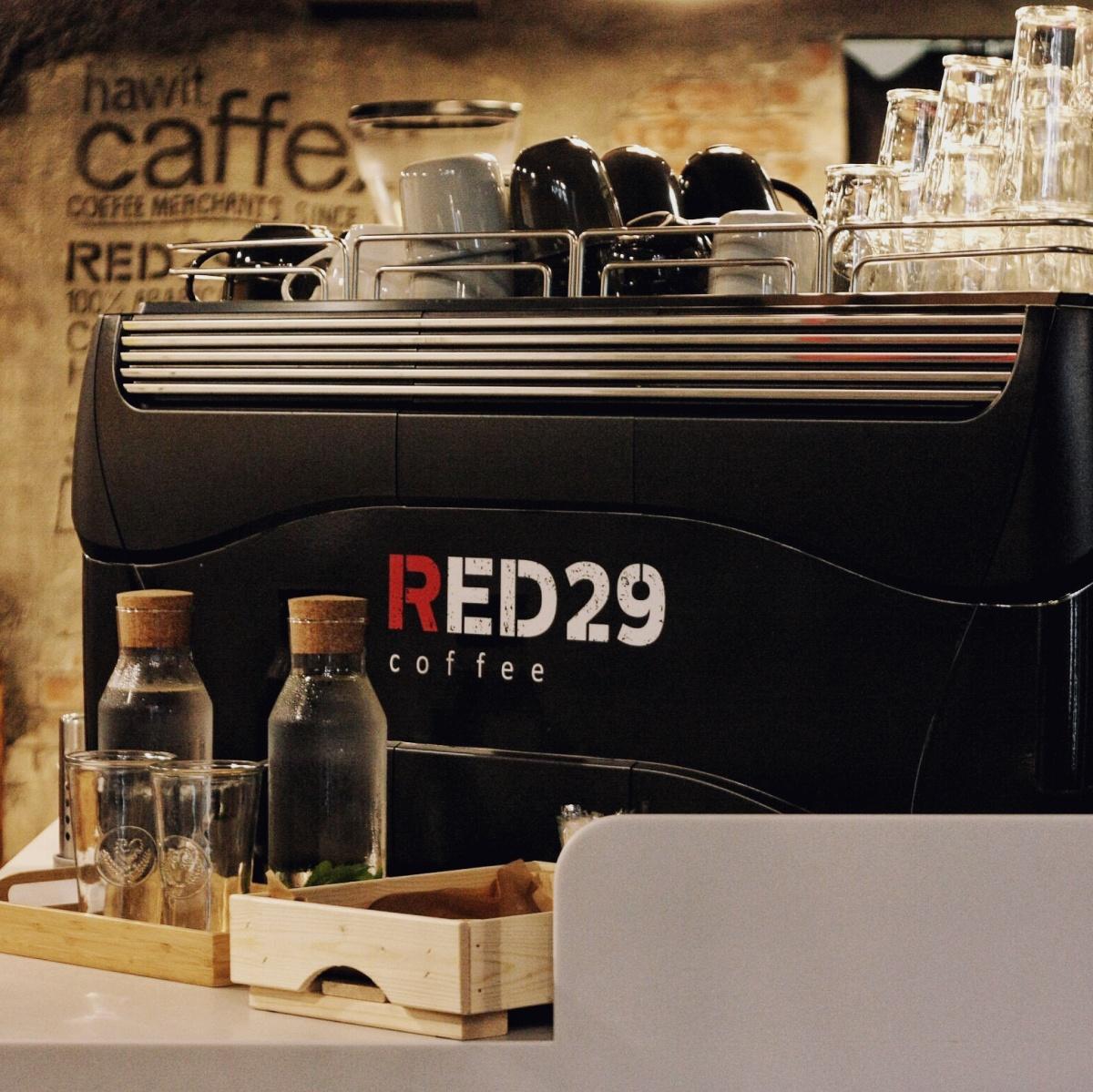 RED29 дает кофе бесплатно, если сказать: «Олеся, огонь!»