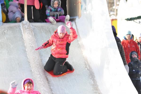 Ледовые городки начинают открываться уже на этой неделе