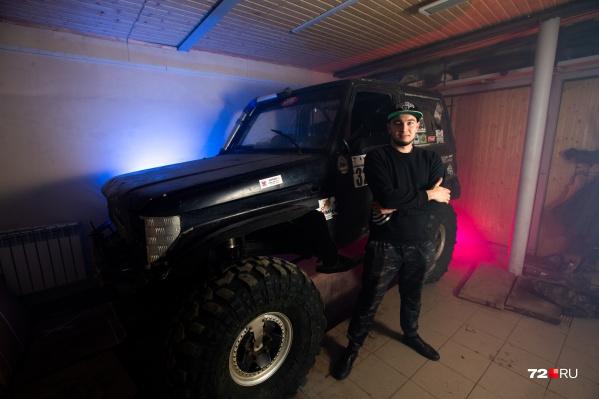 Дмитрий занимается автоспортом уже более семи лет