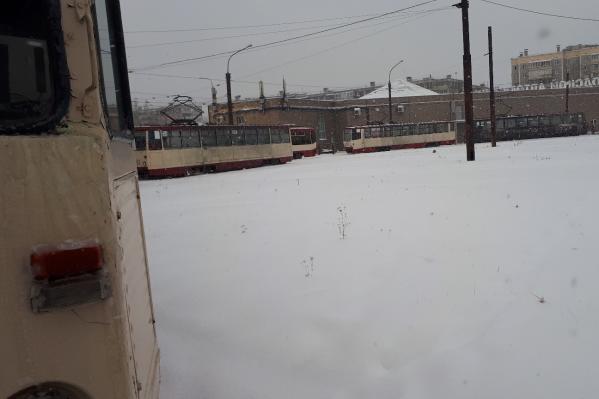 На Северке трамвай остался без тормоза