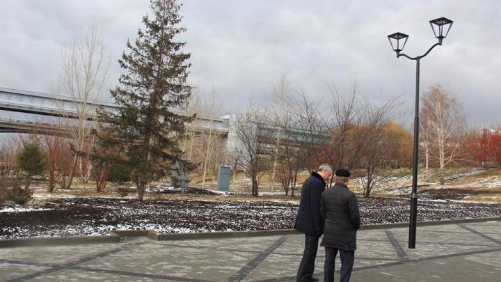 Три месяца работы и 120 миллионов: в Новосибирске официально открыли Михайловскую набережную