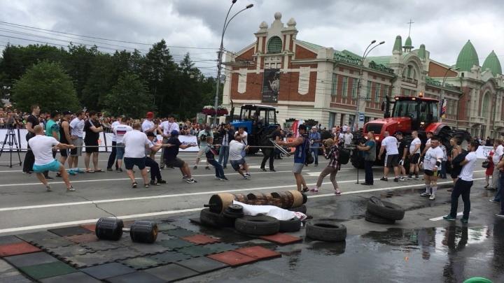 Александр Бойко о состязаниях силачей: «Вы подарили городу настоящее шоу» (видео)
