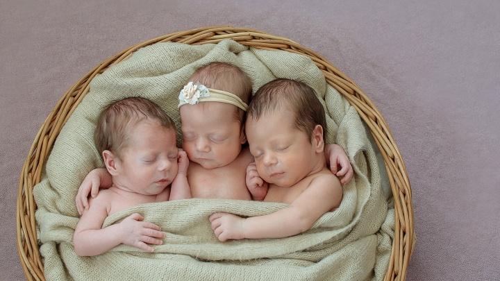 «Вместе они банда»: мама тройняшек о страхе рожать, трудностях и радостях материнства
