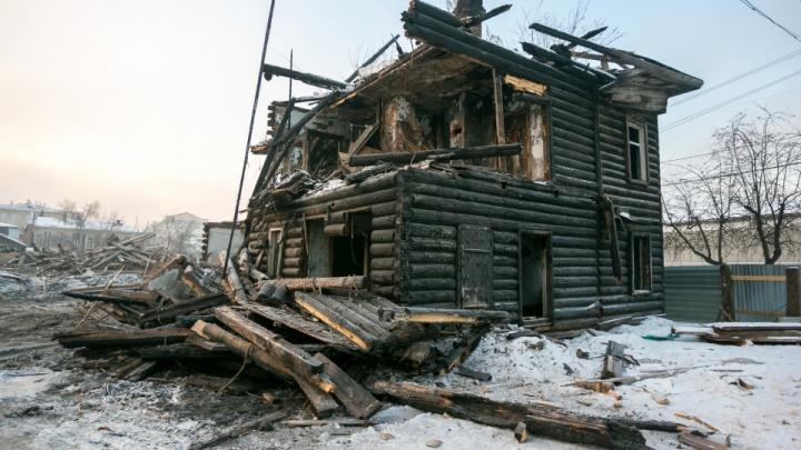 Суд вступился за разрушенные дома на Перенсона и признал их право быть в реестре объектов культуры
