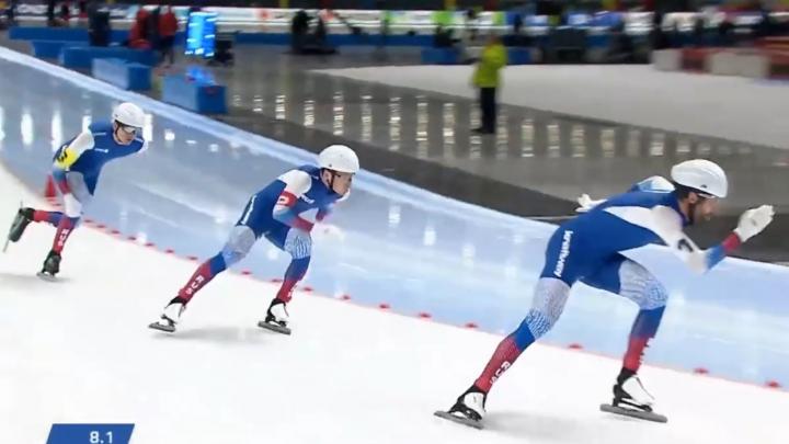 Конькобежец из Архангельской области Александр Румянцев завоевал медаль на этапе Кубка мира в Польше