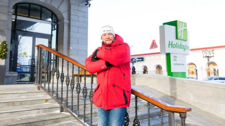 Домой в командировку: известного блогера, переехавшего в Израиль, заметили в отеле в Уфе