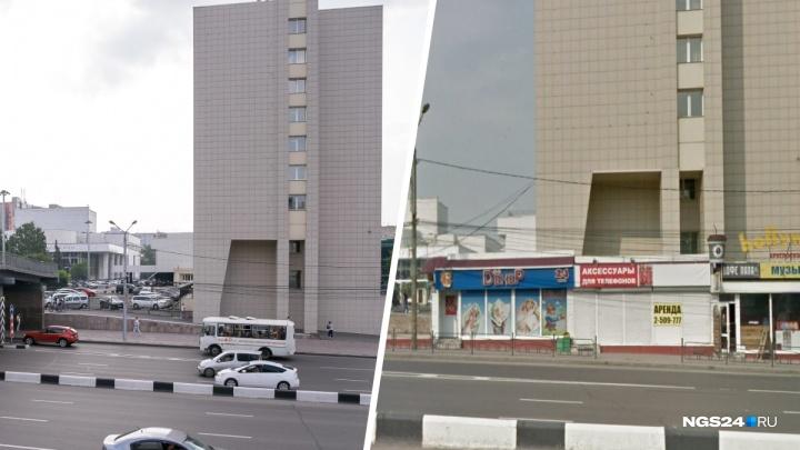 До и после: сравниваем, как выглядят знаковые места Красноярска без павильонов