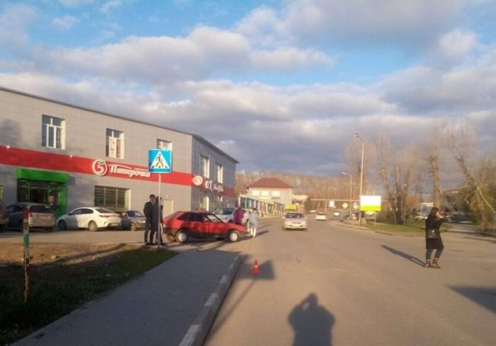 ДТП произошло на нерегулируемом пешеходном переходе