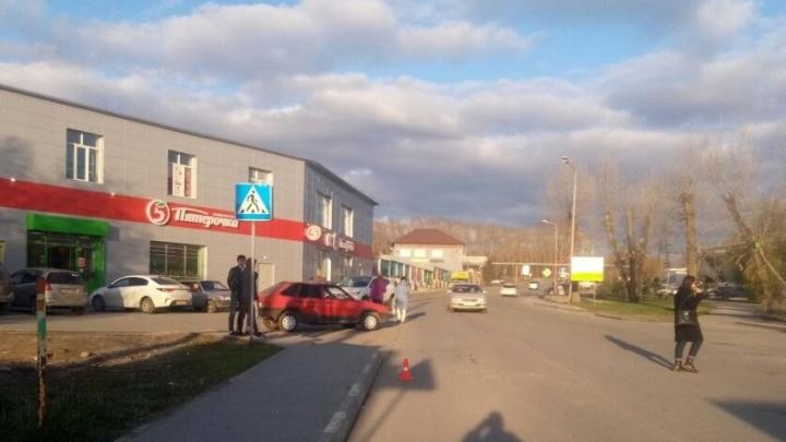 В Новосибирске ищут водителя, который сбил девочку на пешеходном переходе