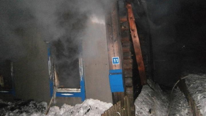 В Прикамье два человека погибли на пожаре из-за неосторожного курения