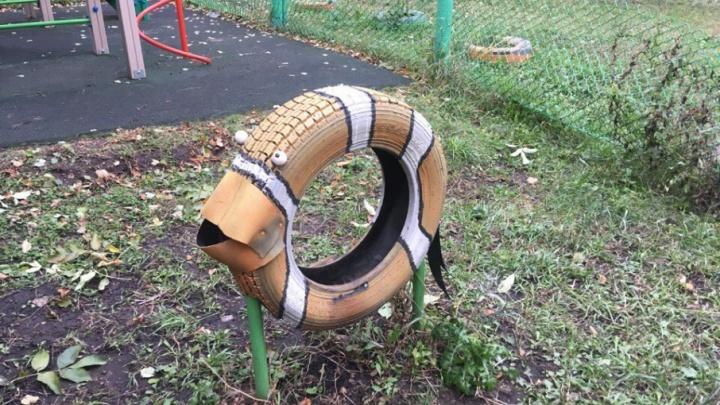 В Уфе устроили конкурс арт-объектов из мусора и отходов