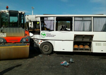 На границе Башкирии с Челябинском собираются пробки: на трассе М-5 заторы из-за крупной аварии