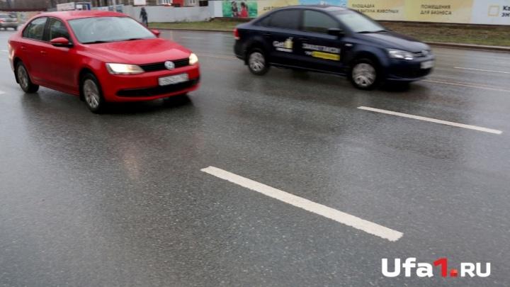 Дорожники объяснили, почему на дорогах Уфы нет разметки