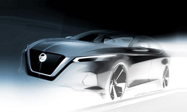 Nissan показал новую «Теану»