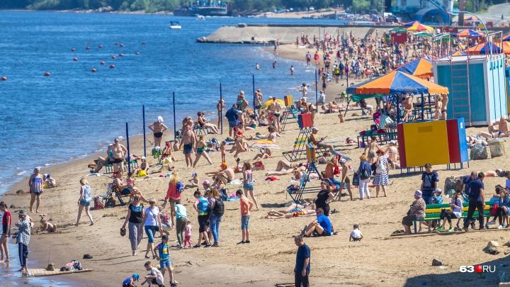 Роспотребнадзор рекомендовал запретить купаться на четырех самарских пляжах