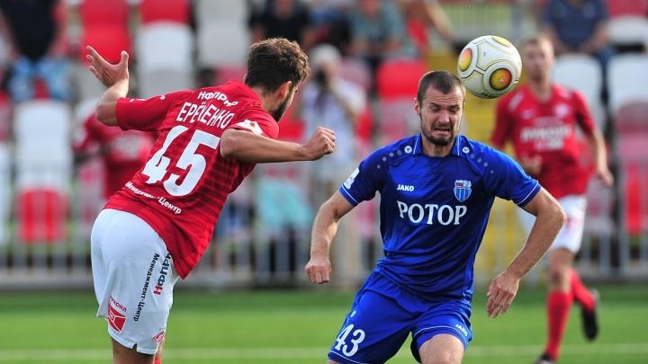 «Нам стыдно!»: столичный «Спартак-2» обыграл волгоградский «Ротор» со счётом 2:0