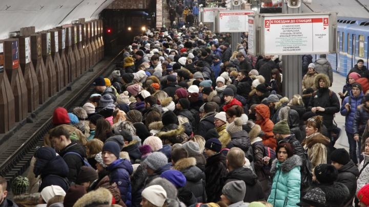 Полстраны прокатили: новосибирский метрополитен отчитался о работе