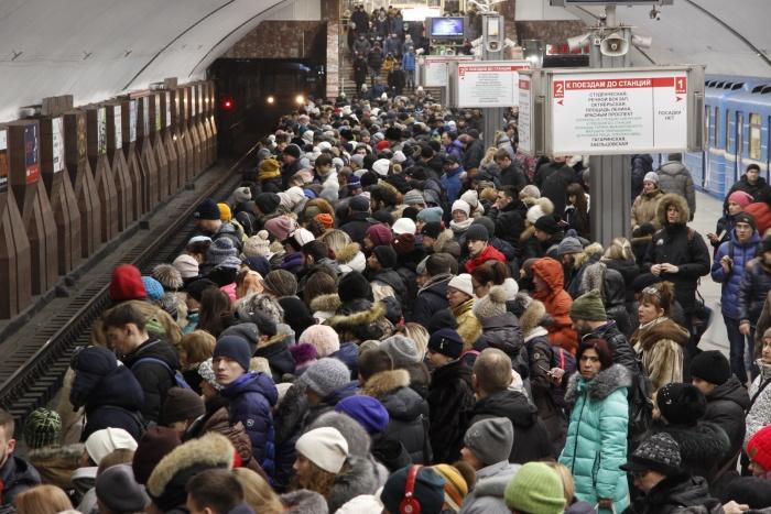 В прошлом году новосибирский метрополитен перевёз больше 80 миллионов пассажиров