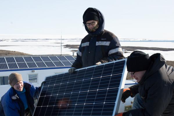 В будущем на опорном пункте Омега хотят обеспечить энергию солнца круглый год