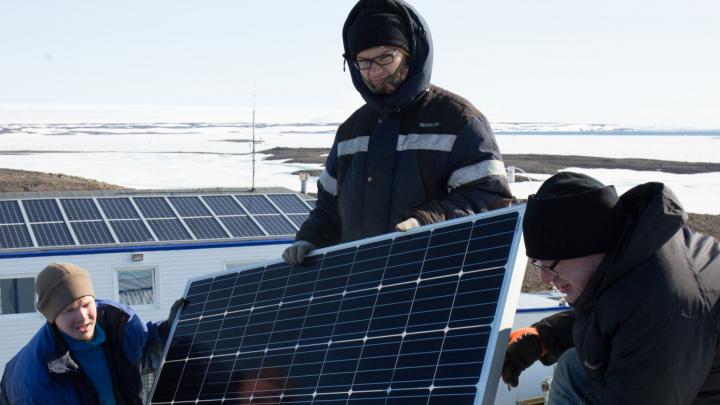 На Земле Франца-Иосифа поставили солнечные батареи, чтобы экономить топливо