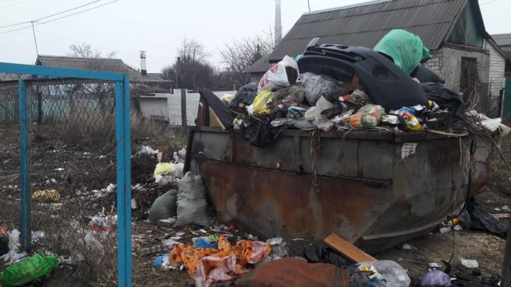 «Музыка играла недолго»: поселок на севере Волгограда обрастает горами мусора