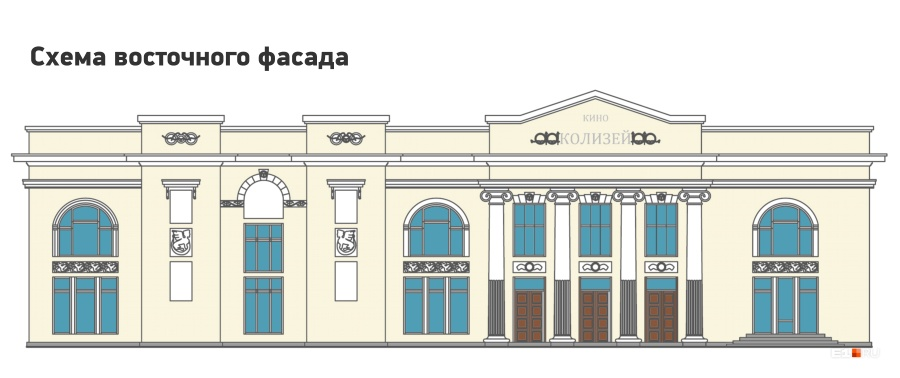 Фасад со стороны улицы Карла Либкнехта