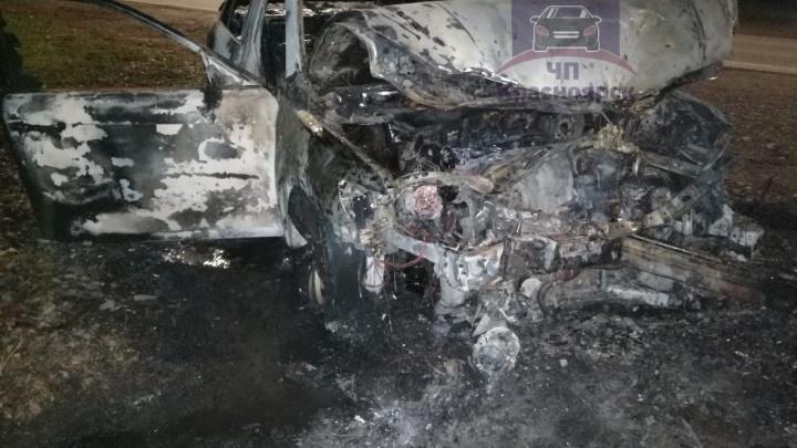 Пьяные работники автосервиса угнали «Камри» и устроили на ней гонки с ДТП и пожаром