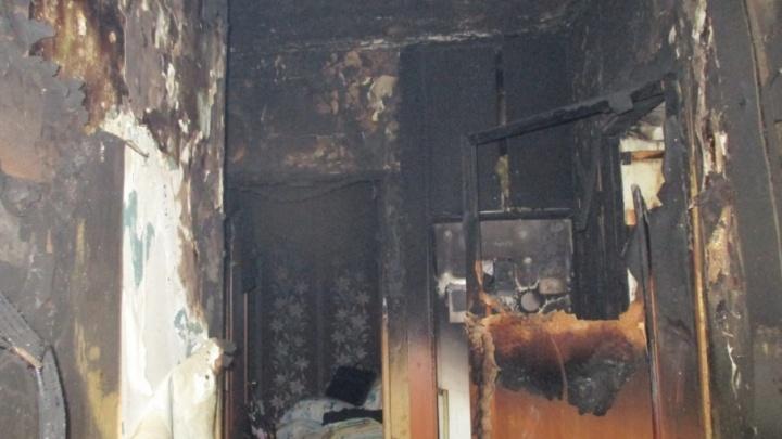 В Башкирии из горящей многоэтажки эвакуировали десять человек