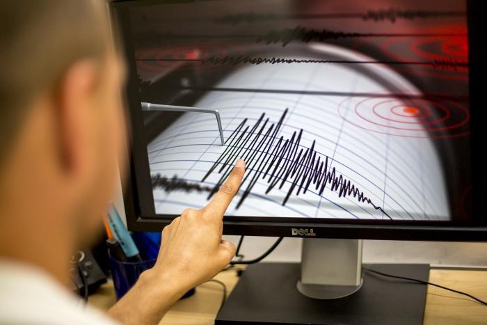 Магнитуда подземного толчка составила 3,9