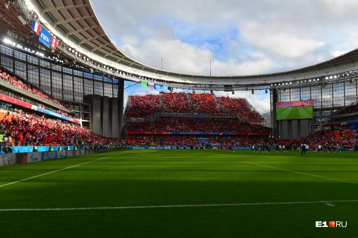 Старт и финиш будут на стадионе «Екатеринбург Арена»