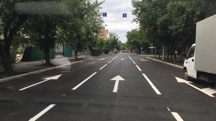 Улицу Осипенко полностью открыли для проезда