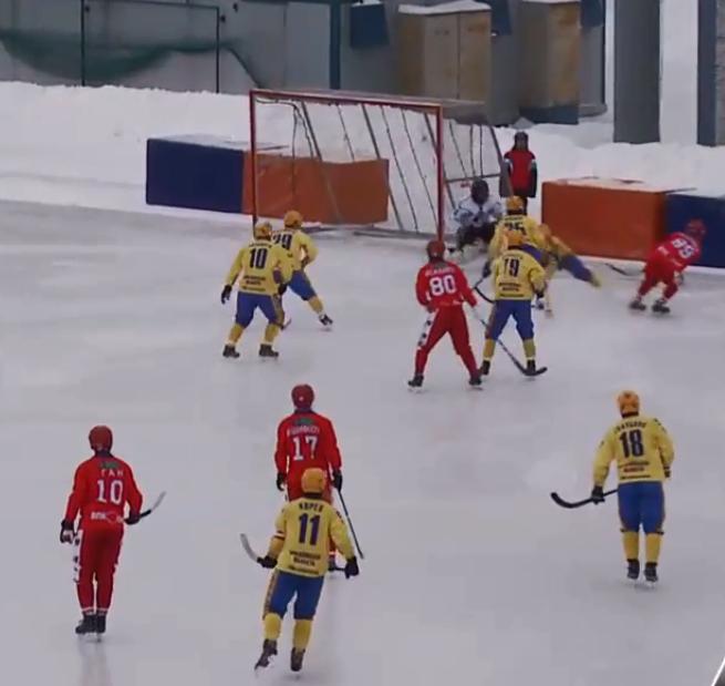 Матч прошёл в Новосибирске