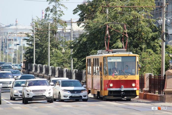 Задымление произошло в одном из трамваев 26-го маршрута