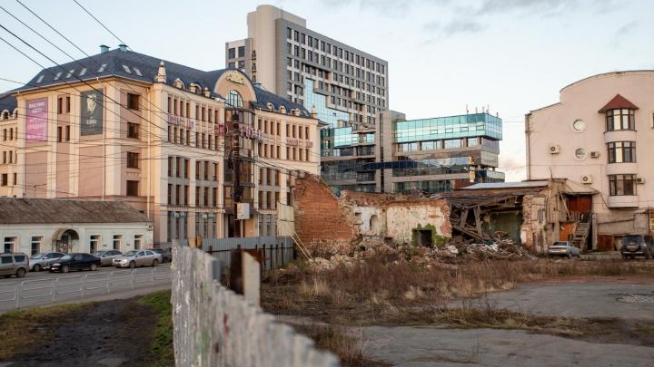 «Будет уродовать центр»: на месте старинного особняка в Челябинске построят разноэтажную гостиницу