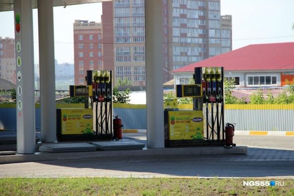 В последний раз цены на бензин в Омске менялись в начале марта