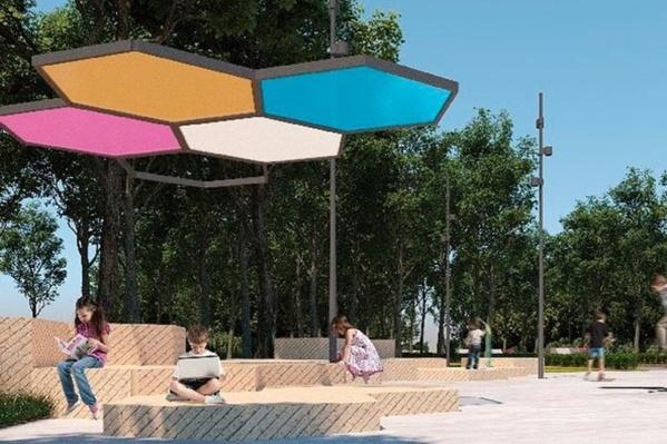 В парке может появиться множество скамеек