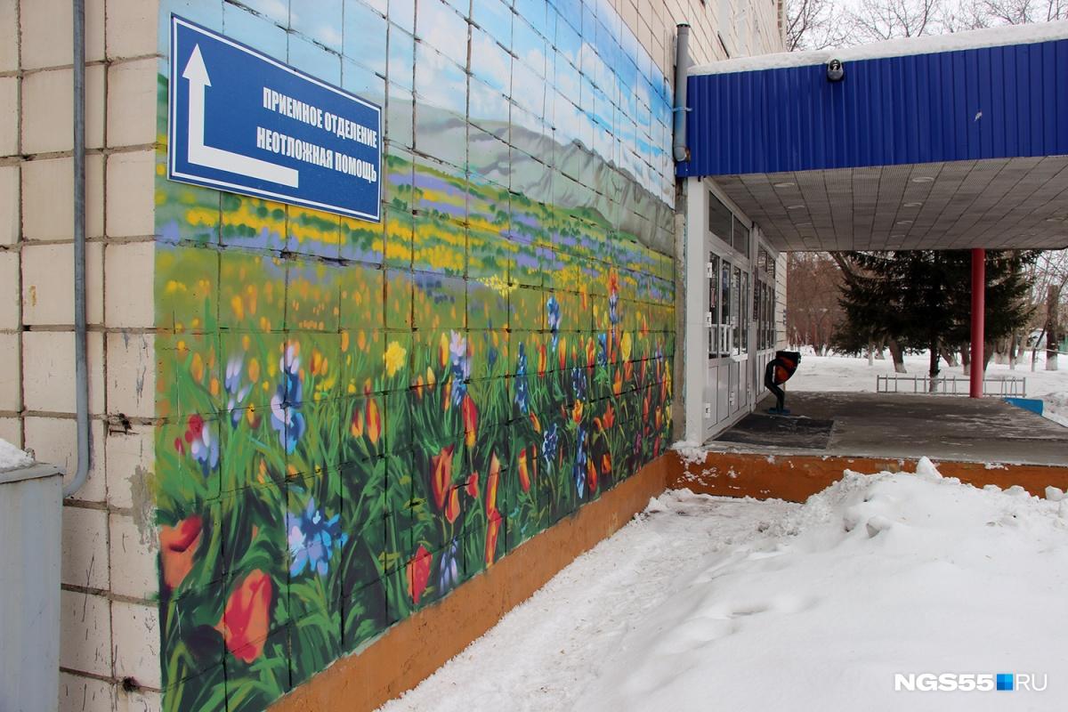 Граффити рисовал художник, а краску выделил «Газпром»