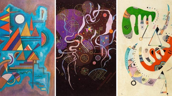 В Екатеринбург привезут 66 редких картин Кандинского, которые никогда не были на Урале