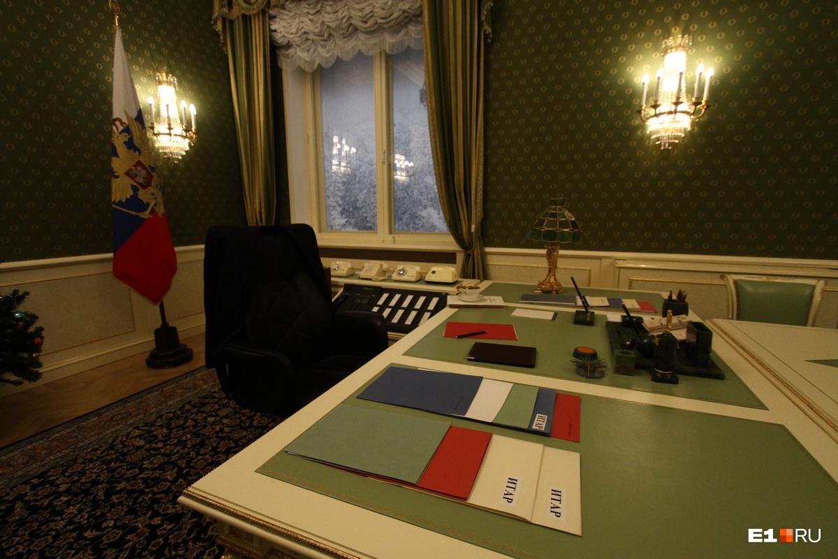 Копия кабинета, в котором Ельцин записывал прощальное обращение к россиянам, теперь находится в музее имени первого президента в Екатеринбурге