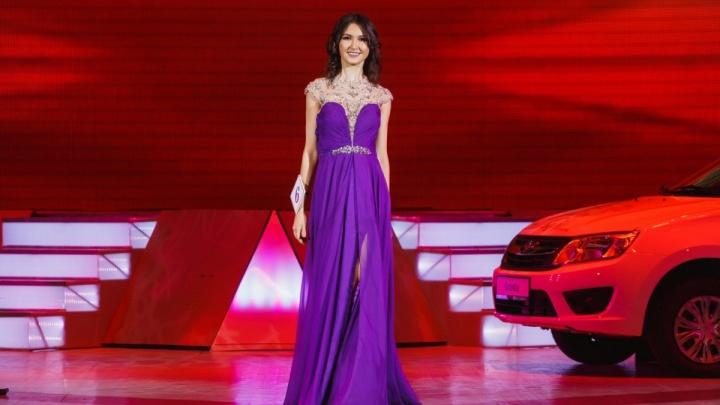 «Мисс зрительских симпатий»: уфимская красотка завоевала титул на всероссийском конкурсе
