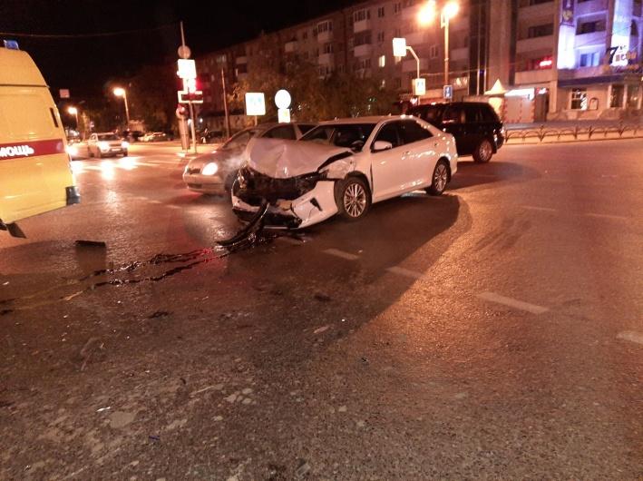 Почему водитель иномарки допустил столкновение — сейчас еще непонятно