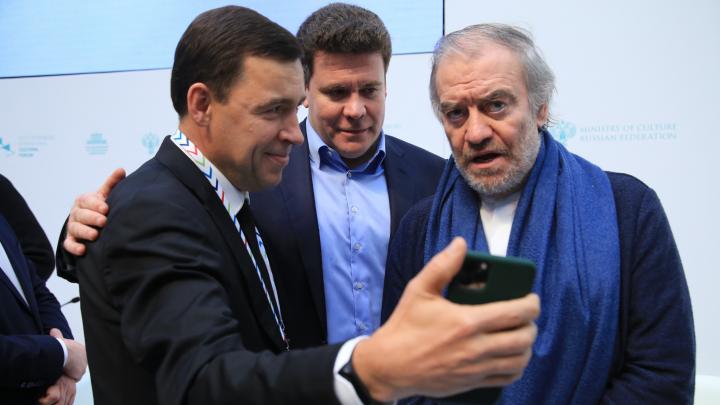 Мацуев и Куйвашев презентовалив Питере новый зал Свердловской филармонии. Показываем, какой он