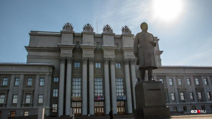 Куйбышева отшлифуют: обновленный памятник революционеру представят к 20 ноября